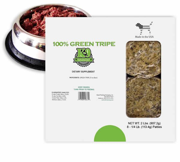 Green Tripe from Inland Empire Raw